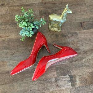 Kate Spade ♠️ Vida Red Pumps